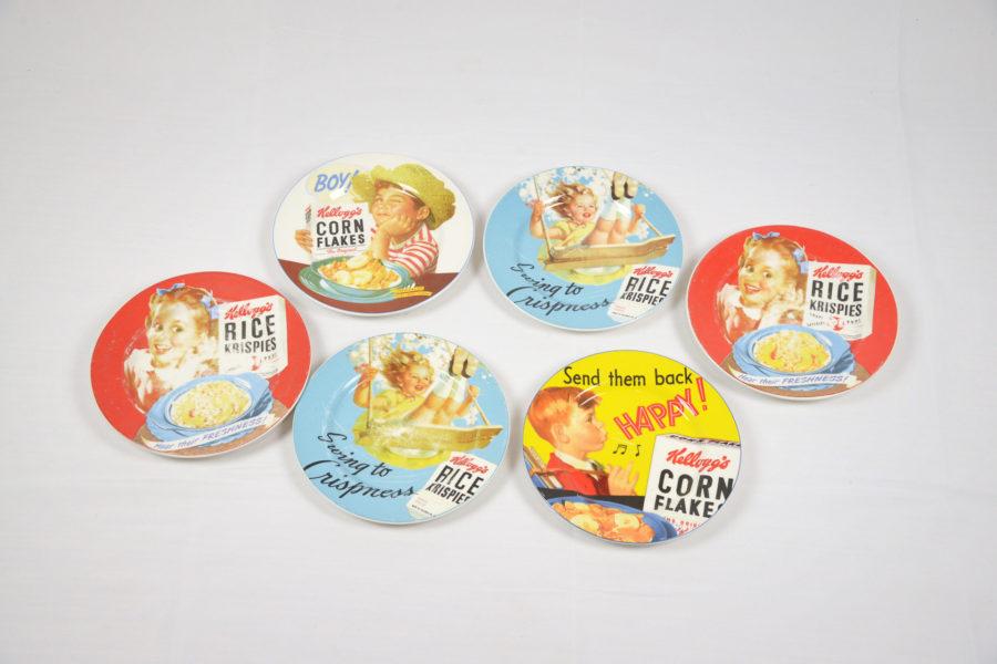 Lot de 6 assiettes publicitaires Kellogg's - DSC_9498.jpg