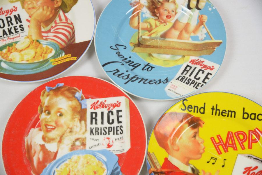 Lot de 6 assiettes publicitaires Kellogg's - DSC_9501.jpg