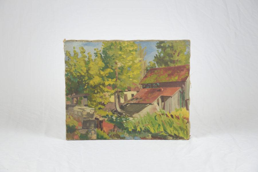 Tableau ancien 'Moulin de Châteauroux' - DSC_9871.jpg